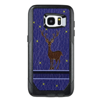 Leather-Look Native Zodiac Deer OtterBox Samsung Galaxy S7 Edge Case