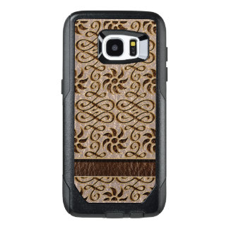 Leather-Look  Ornament Soft OtterBox Samsung Galaxy S7 Edge Case