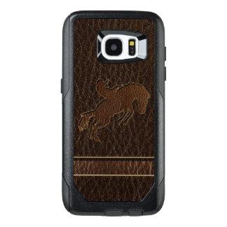 Leather-Look Rodeo Dark OtterBox Samsung Galaxy S7 Edge Case