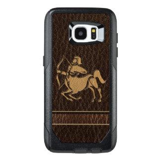 Leather-Look Sagittarius OtterBox Samsung Galaxy S7 Edge Case