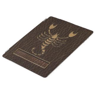 Leather-Look Scorpio iPad Cover
