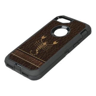 Leather-Look Scorpio OtterBox Defender iPhone 8/7 Case