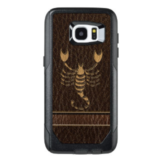 Leather-Look Scorpio OtterBox Samsung Galaxy S7 Edge Case