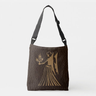 Leather-Look Virgo Crossbody Bag