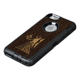 Leather-Look Virgo OtterBox Defender iPhone Case