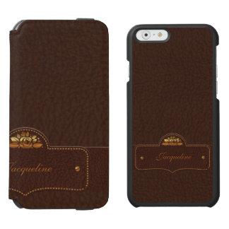 Leather Luxury Name Incipio Watson™ iPhone 6 Wallet Case