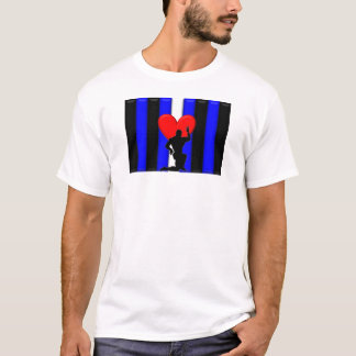 Leather Muscle Worship Pride T-Shirt