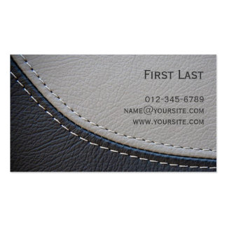 Leather. Pack Of Standard Business Cards