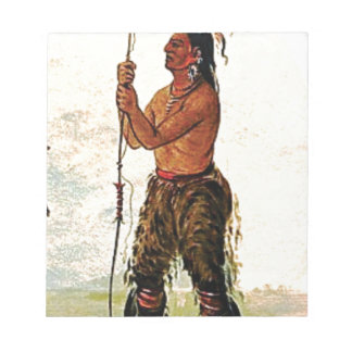 Leather pants Indian Notepad