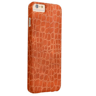 Leather pattern barely there iPhone 6 plus case