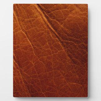 Leather Plaque