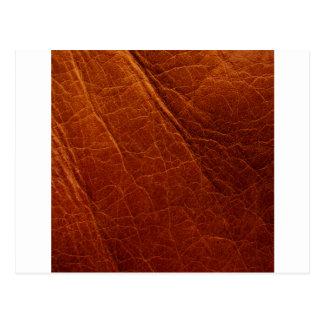 Leather Postcard