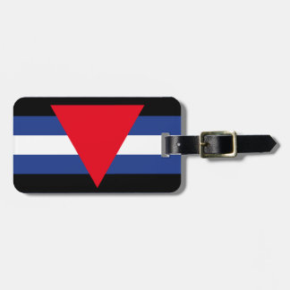 LEATHER QUEER PRIDE LUGGAGE TAG