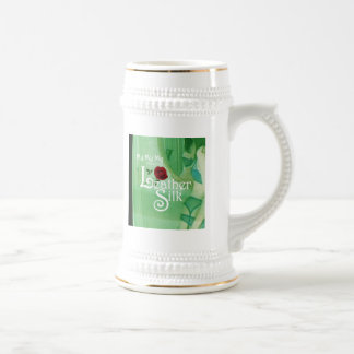 Leather Silk Cover 18 Oz Beer Stein