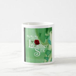 Leather Silk Cover Coffee Mug