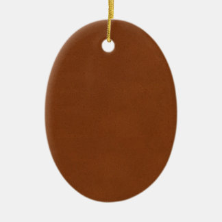 Leather Texture artistic background diy template Ceramic Oval Decoration