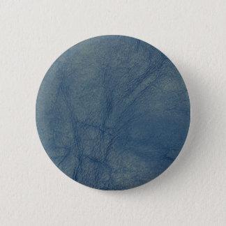 Leather texture closeup 6 cm round badge