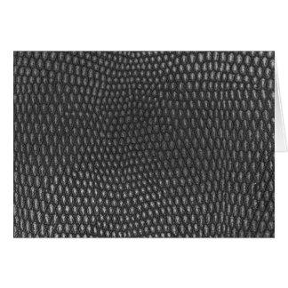 Leather texture closeup card