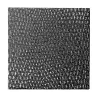Leather texture closeup ceramic tile
