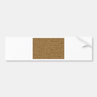 Leather texture graphic art template diy add text bumper sticker