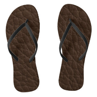 Leather Texture Thongs