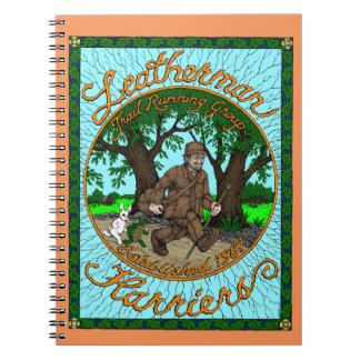 Leatherman Harriers spiral Notebook