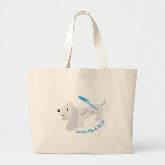 Leave A Note Jumbo Tote Bag