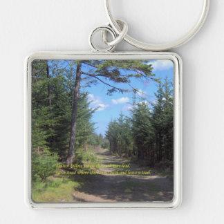 Leave A Trail Key Ring