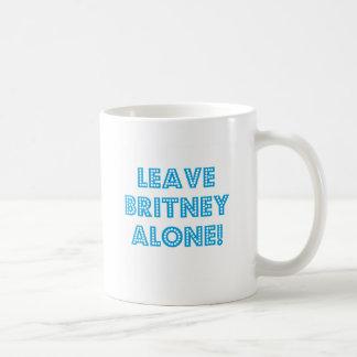 Leave   Alone Coffee Mug