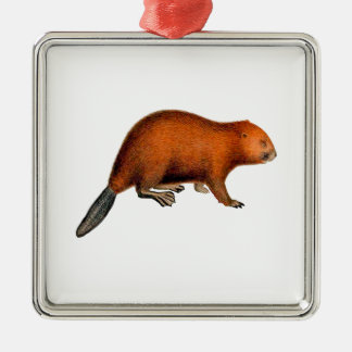 Leave it to Beaver Metal Ornament