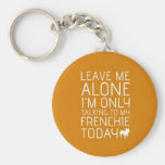 Leave Me Alone, Orange Keychain