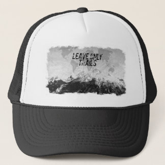 Leave Only Trails Trucker Hat