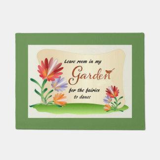 Leave Room In My Garden for the Fairies Doormat