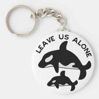 Leave the Orca Key Ring
