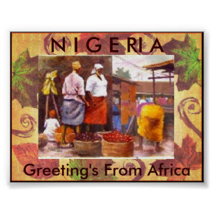 Greetings from africa gifts on zazzle au leaves 061207112821pz greetings from africa poster m4hsunfo