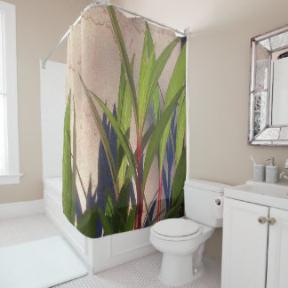 Leaves and Shadows Shower Curtain