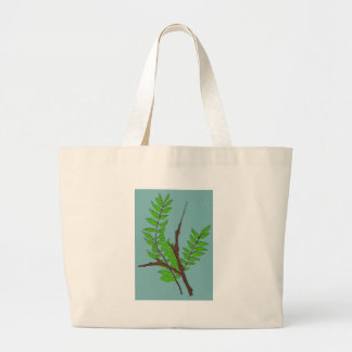 Leaves and Twigs Jumbo Tote Bag