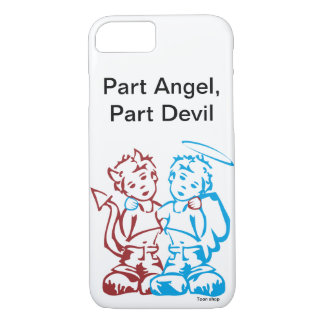 Leaves Angel, Part Devil iPhone 8/7 Case