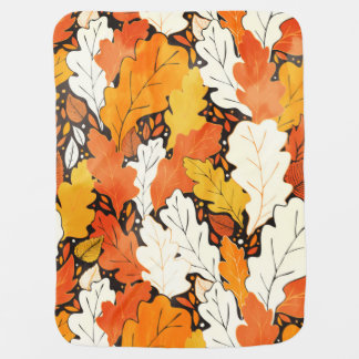 Leaves Baby Blanket