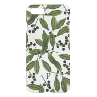 Leaves & Berries Modern Trendy Personalized iPhone 8/7 Case