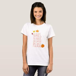 Leaves, breeze, and pumpkins shirt