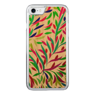Leaves Design by Leslie Harlow Carved iPhone 8/7 Case