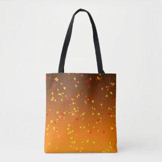 Leaves Falling Tote Bag