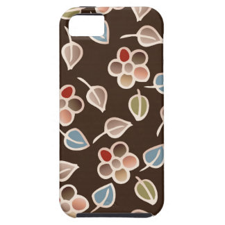 leaves & floral pattern iPhone 5 cases