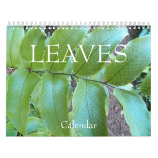 Leaves Floral Photo Wall Calendars