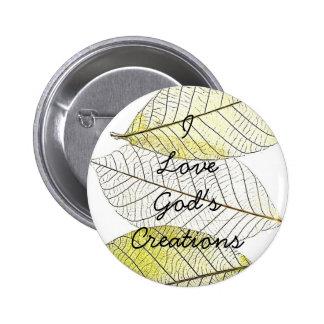 leaves, ILoveGod'sCreations Pin