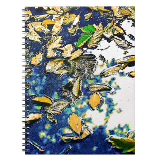Leaves in the Rain Notebook