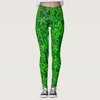 leaves leggings