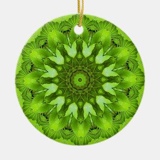 Leaves Mandala Christmas Tree Ornament