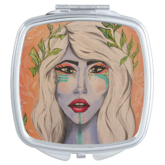 Leaves Mirror Mirrors For Makeup